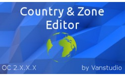 Country and Zone Editor