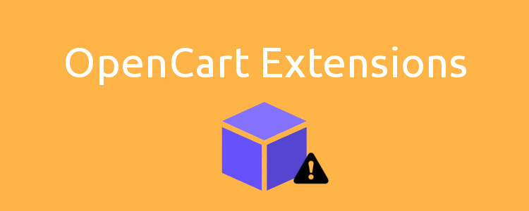 The most popular problems with OpenCart 2.x extensions after successful installation