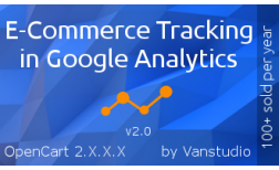 E-Commerce Tracking in Google Analytics