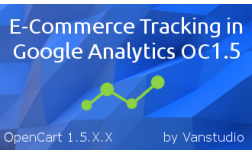 E-Commerce Tracking in Google Analytics OC1.5